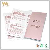 Impresión de folletos, impresión del folleto con papel de arte