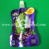 Мешок раговорного жанра угловойого питья мешка Spout упаковывая