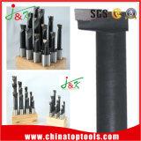 Высокое качество 3/4 пластичных карбидов стойки 12PCS/Set наклоненных оправки для расточки