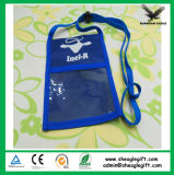 Изготовленный на заказ мешок плеча полиэфира 70d при напечатанный логос