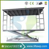 Heißer verkaufender vertikaler Ladung-Aufzug/Scissor Ladung-Aufzug für Lager