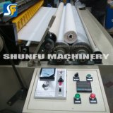 Maquinaria de procesamiento de papel de la máquina rebobinadora cortadora longitudinal de la línea de producción haciendo aseo tambor