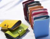 Leer 24 van de manier Pu Portefeuille de van de Bedrijfs groeven van de Kaart Van de Creditcard