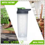 [ببا] يحرّر [700مل] بروتين خلاط رجّاجة زجاجة
