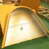 정면의 설비 준비 날조된 알루미늄 벽면