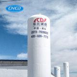 Serbatoio verticale ed orizzontale personalizzato dell'argon del liquido criogenico