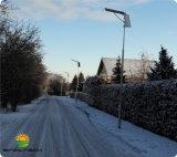 Alle in einer 20W LED integrierten angeschaltenen im Freiensolarbeleuchtung (SNSTY-220)