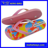 You Tube Imprimir niñas PE flip-flop con correas de PVC