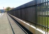 Plus de feux de croisement galvanisé à chaud avec revêtement en poudre Redfern clôture standard du fabricant