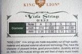 Музыкальный инструмент King Lion марки никель Виола строку для продажи