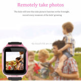Мигающий безопасности Часы с GPS Tracker для детей/детей с камерой D26c
