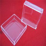 De duidelijke Petrischaal van het Glas van het Kwarts Vierkante