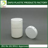 bottiglia di plastica di figura rotonda dell'HDPE 150ml con la protezione della parte superiore di vibrazione