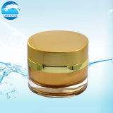 Kosmetische Sahneglas-Acryl-Großhandelsflasche