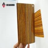 Painel Composto de alumínio interior ACP de madeira (AE-303)