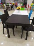 Moderne moderne im Freien speisende Bankett-Tisch-Stuhl-Möbel