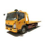 Factory Direct HOWO Rhd 4X2 Chariot de remorquage à plat démolisseur Rollback camions