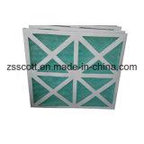 G4 G5 papier filtre de fibre de verre