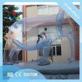 Transparent éléphant gonflable Cartoon modèle pour la décoration de la publicité