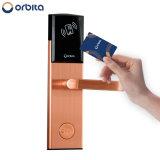 Orbita Hôtel carte clé RF électronique mortaise de serrure de porte de la poignée avec carte à circuit imprimé