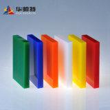4'x8' feuille de plexiglas teinté de 2mm-50mm couleur feuille acrylique moulé en plastique