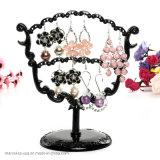 Mulheres Pendente de moda jóias brincos Visor Visor Prateleira Suporte de suporte
