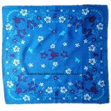 Fabrik Soem-Erzeugnis passte Firmenzeichen gedruckte Baumwollkopf-Verpackungs-grosse Taschentuch-Bandanna an