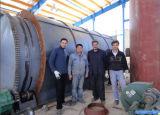 Pneumatico Recycling a Diesel Pyrolysis e a Distillation Plant