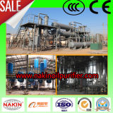 Máquina serie JZC residuos de destilación del aceite de motor