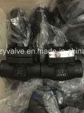 """API602 1 de """" válvula de verificação Class1500 A105 (H11H-1500LB-1/2 """")"""