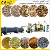 Les déchets de bois Usine de Bouletage 8-10T/H automatique de ligne de production de pellets de paille