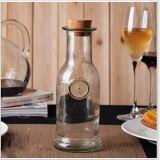 Vaso diritto del vetro da bottiglia della bevanda per spremuta e la bevanda