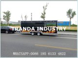 20FT x 7FT Doppelwellen-mobile Verkauf-Nahrungsmittelkarren