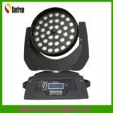 lavagem principal movente do zoom do diodo emissor de luz da iluminação do estágio de 36*10W 4in1