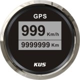 52mm popolari Digital LED GPS Speedometer Velometer 0-999 (nodi di mph di km/ora) con Backlight 12V 24V
