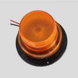 10-110V de oppervlakte zet 5W Amber LEIDENE Stroboscoop op die Licht Baken met Magnetische Basis waarschuwen