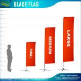 Rectangle vertical personnalisé de qualité des drapeaux de la bannière pour les événements extérieurs