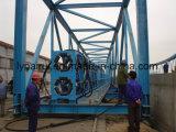 Massenmaterialtransport-Röhrenbandförderer-Gerät für Kleber