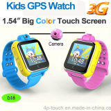 3G het slimme GPS van Jonge geitjes Horloge van de Drijver met 2.0m Camera (D18)