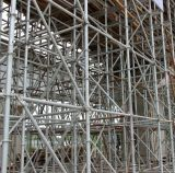 Construction Building를 위한 Ringlock Scaffold