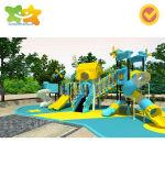 2019 Kids Game jouets en plastique Parc de loisirs de l'équipement de terrain de jeux de plein air de jouets des enfants Diapositive