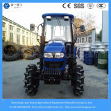 70HP 4WD Agricultural Farm / Faming / Garden / Lawn / Paddy Tire 6-Cylinder Tractor with Cabin
