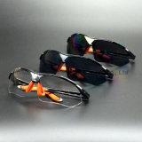 De donkergrijze Bril van de Veiligheid van de Lens (SG115)