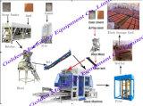 Automatischer China-hydraulischer konkreter Kleber-Ziegelstein-Block, der Maschine herstellt