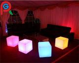 cubo de la silla LED del cubo de los 40cm 3D LED para para el hogar, partido, acontecimiento con el regulador alejado