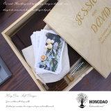 Hongdao passte Geschenk-hölzernen Foto-Album-Kasten für Sale_D an