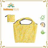 Nylon Vouwbare Opnieuw te gebruiken het Winkelen Zak, het Patroon dat van de Polyester Afgedrukte Zak vouwt, Vouwend Zak