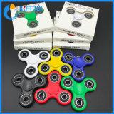 Tri-Spinner Fidget Juguete de plástico EDC Spinner de mano Fidget Spinner