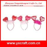バレンタインの装飾(ZY13L939-1-2)のバレンタインのフクロウヘッドクリップ装飾のギフト