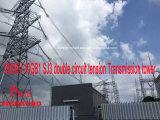 Doppia torretta della trasmissione di tensionamento del circuito di Megatro 1000kv 10GB1 Sj3